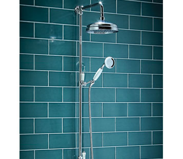 Harrogate Rigid Riser Shower