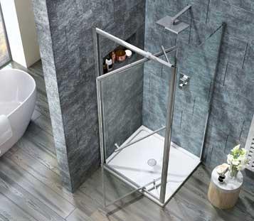 i8 Infold Shower Doors