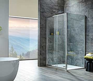 i8 Sliding Shower Doors