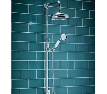 Harrogate Rigid Riser Shower
